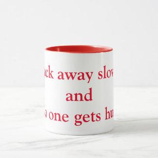 Back away slowly mug