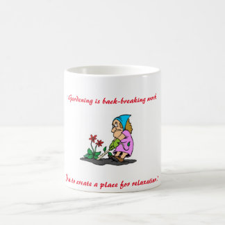 """BACK BREAKING GARDENING"" 11 oz. COFFEE MUG"
