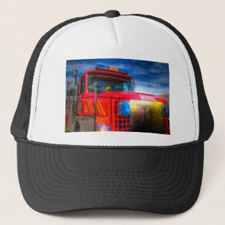 Back Draft Fire Truck Trucker Hat