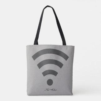 BACK/FRONT Print Tote Bag
