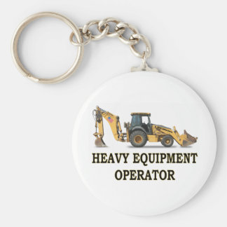 BACK HOE LOADER KEYCHAIN