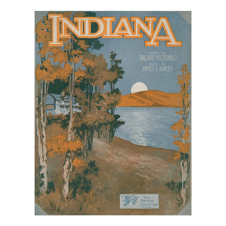 Back Home Again In Indiana Poster
