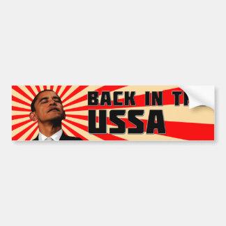 Back in the USSA bumpersticker Bumper Sticker