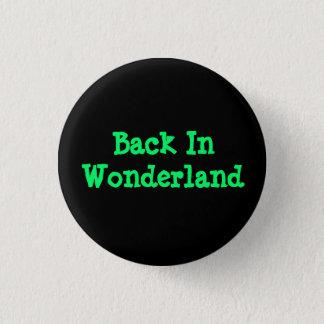 Back In Wonderland 1 Inch Round Button