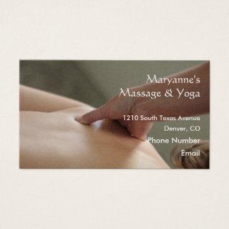 Back Massage Photo - thumb Business Card