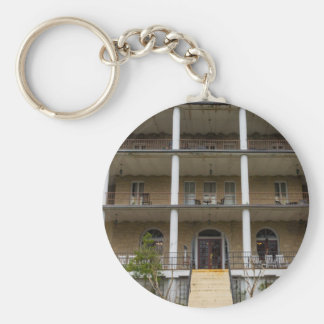 Back Of Crescent Hotel Keychain