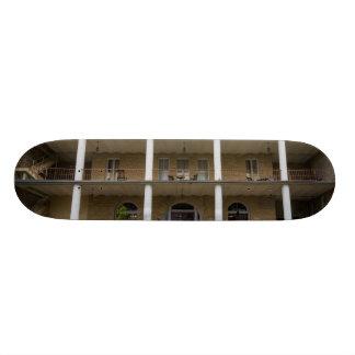 Back Of Crescent Hotel Skate Board