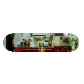 Back of Fire Truck Skate Decks