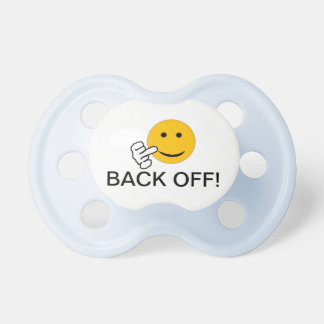 Back Off Baby Pacifier