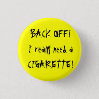 Back Off! Button