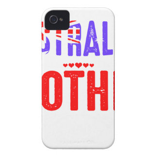 Back Off Crazy Australian Mother Not Afraid Use Case-Mate iPhone 4 Cases