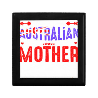 Back Off Crazy Australian Mother Not Afraid Use Jewelry Box