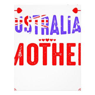 Back Off Crazy Australian Mother Not Afraid Use Letterhead