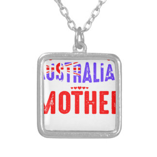 Back Off Crazy Australian Mother Not Afraid Use Silver Plated Necklace