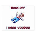 Back Off I Know Voodoo Doll Magic Haitian