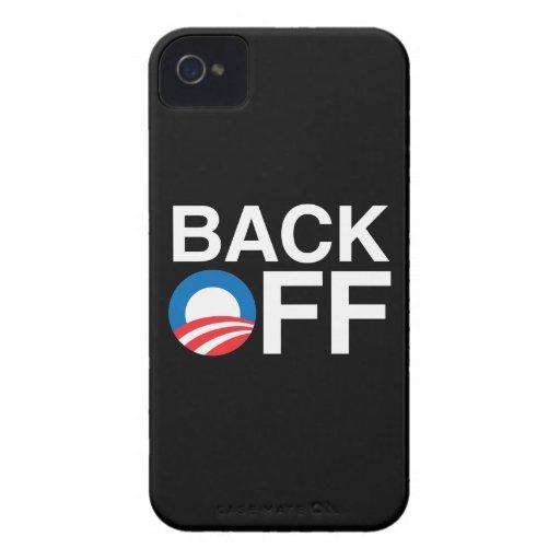 BACK OFF OBAMA BLACKBERRY BOLD COVER