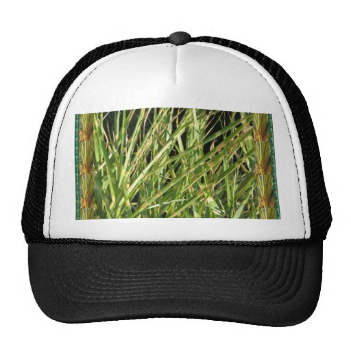 Back printed shirts flowers grass trees oakville mesh hats