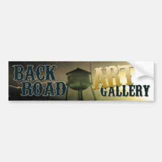 Back Road Art Gallery bumper sticker
