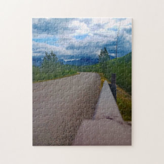Back road to Polebridge Glacier National Park Jigsaw Puzzle