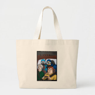 Back Seat Divers Funny Gifts Tees Cards Mugs Etc Large Tote Bag