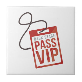 Back Stage Pass Tile