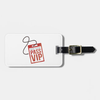 Back Stage Pass Travel Bag Tags