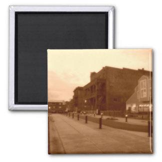 Back-Street Square Magnet