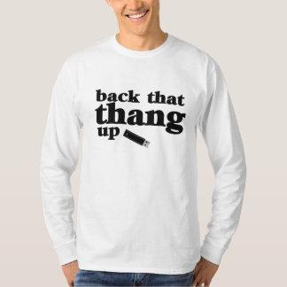 Back That Thang Up Computer Geek T-Shirt