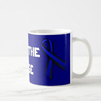 Back The Badge Blue Lives Matter Coffee Mug