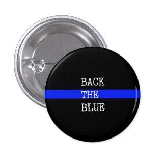 Back The Blue Pin