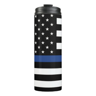 Back The Blue Thermal Tumbler