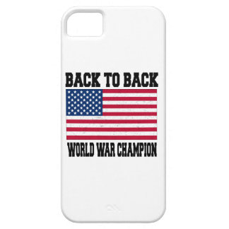 back to back world war champion case for the iPhone 5