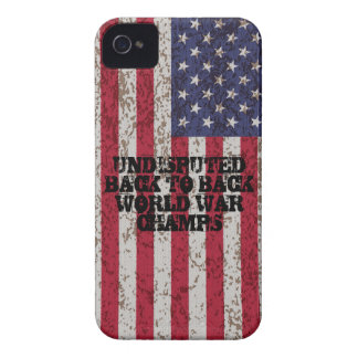 Back to Back World War Champs iPhone 4 Case