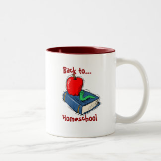 Back to Homeschool Coffee Mug