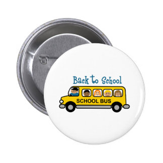Back To School 2 Inch Round Button