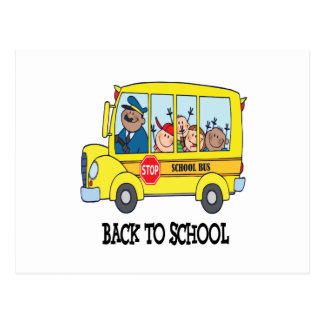 Back To School 3 Postcard