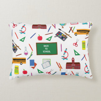 Back to School Accent Pillow
