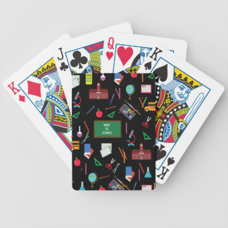 Back to School Bicycle Playing Cards