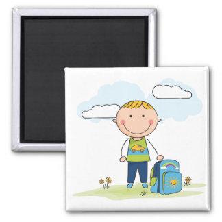 Back to school Boy Magnet