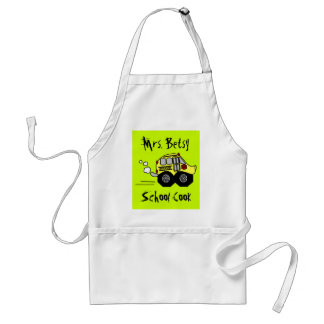 Back to School Bus Standard Apron