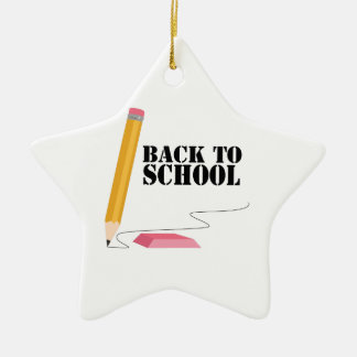 Back To School Ceramic Ornament