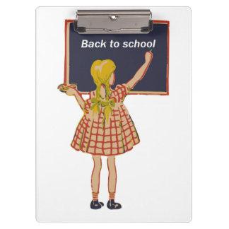 BACK TO SCHOOL CLIPBOARD
