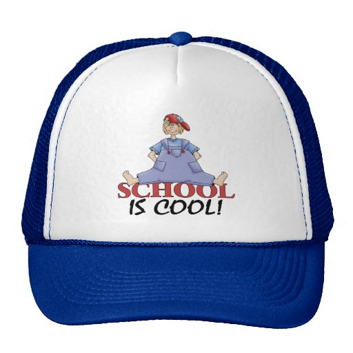 Back To School Clothes Mesh Hats