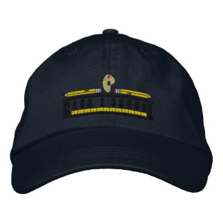 Back To School Embroidered Baseball Cap