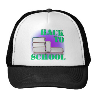 back to school mesh hat