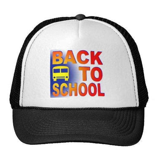back to school trucker hats