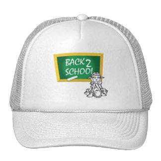 Back to School Mesh Hats