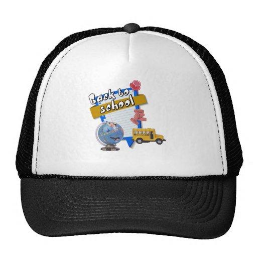 Back to School Mesh Hats