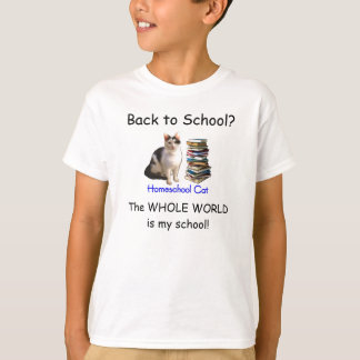 Back to School Homeschool 3 T-Shirt