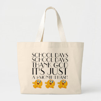 Back to School Humor Tote